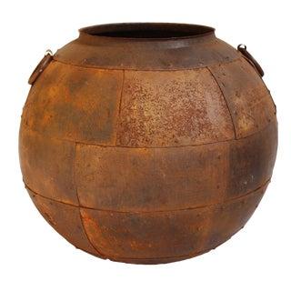 Rustic Iron Pot