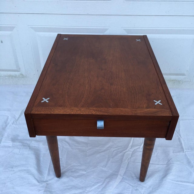American of Martinsville Mid-Century Side Table - Image 4 of 11