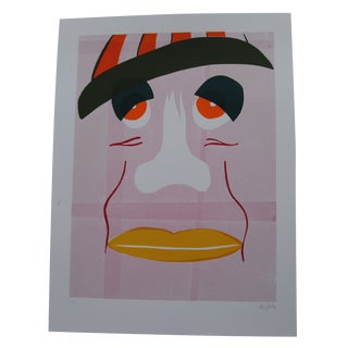 Face Graphic Print