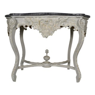 19th Century Louis XV Style Carved Center Table