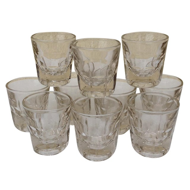 Vintage Rocks Glasses - Set of 10 - Image 1 of 11
