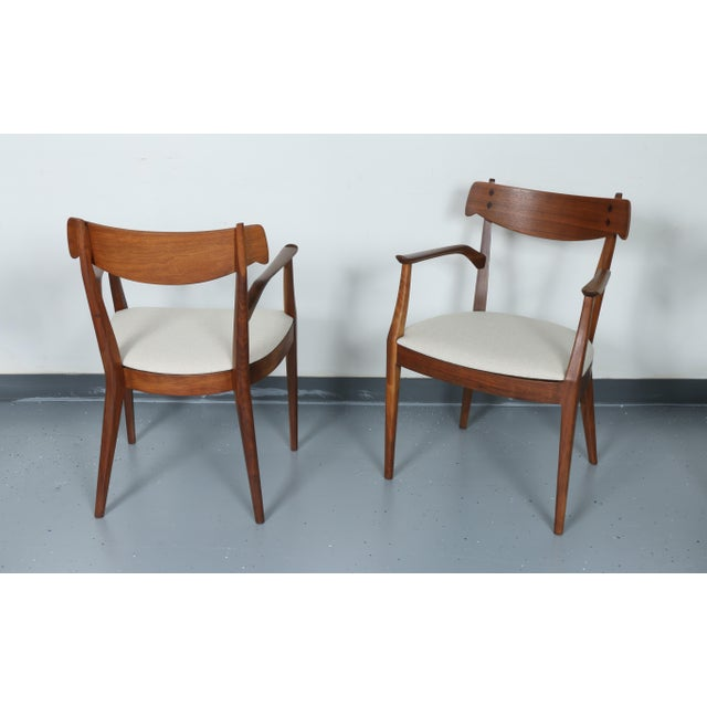 Kipp Stewart for Drexel set of 8 Dining Chairs - Image 7 of 11