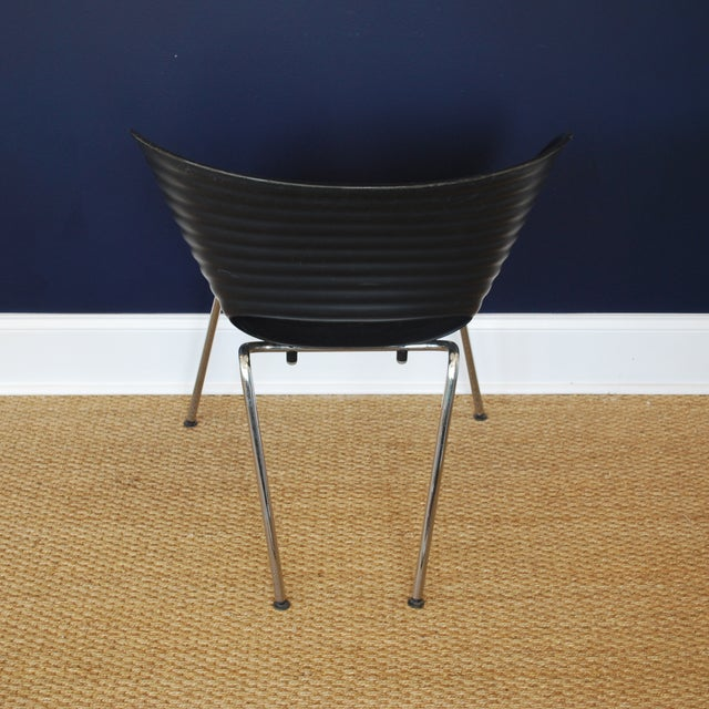 Iconic Black Tom Vac Chairs - Pair - Image 6 of 6