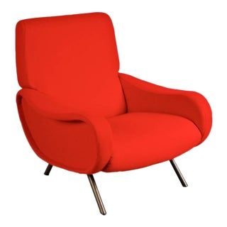 """First Edition """"Lady"""" Easy Chair by Marco Zanuso for Arflex, Italy, circa 1950"""