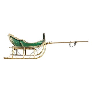Antique Late 19th Century Industrial Cutter Sleigh