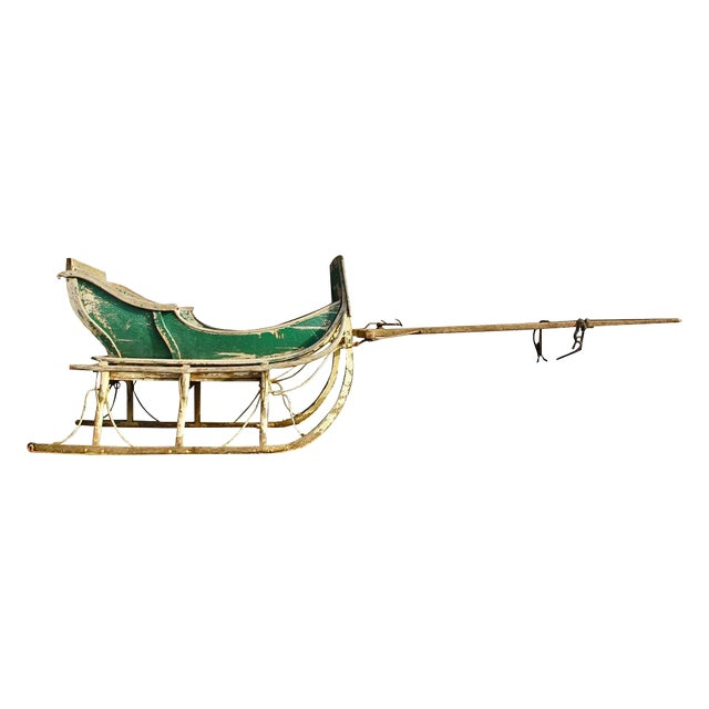 Antique Late 19th Century Industrial Cutter Sleigh - Image 1 of 7