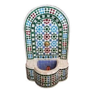 Moroccan Mosaic Fountain
