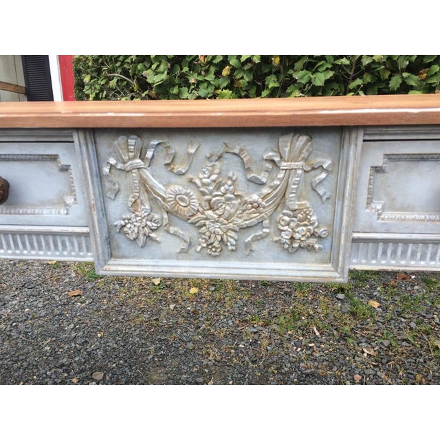 Vintage Gustavian Style French Console Table - Image 3 of 7