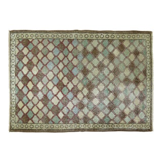 Turkish Art Deco Rug - 3' X 4'5''