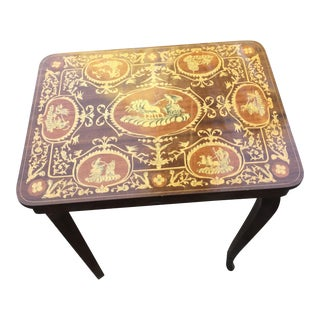 Vintage Italian Inlaid Table