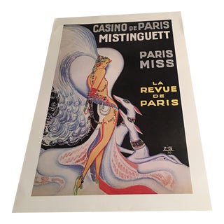 Casino De Paris French Advertising Poster