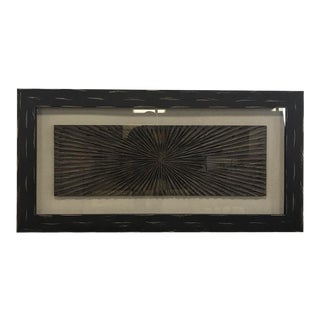 Abstract Framed Wood Carving