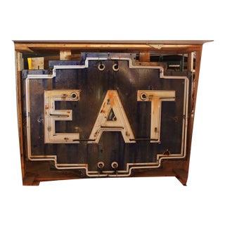 "1930s Neon Sign ""EAT"""
