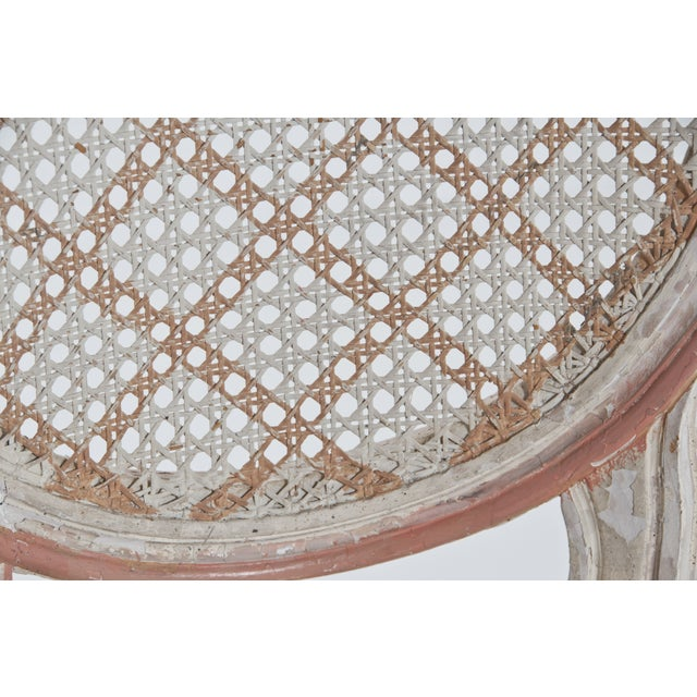 French Caned Chair - Image 7 of 8