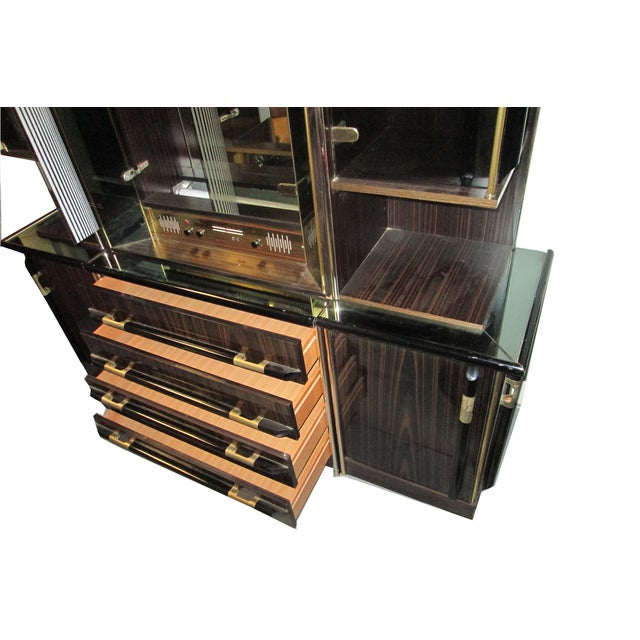 Entertainment Bar & Mivox Stereo Hutch - Image 9 of 10