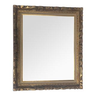 Mid Century Carved Gilt Frame