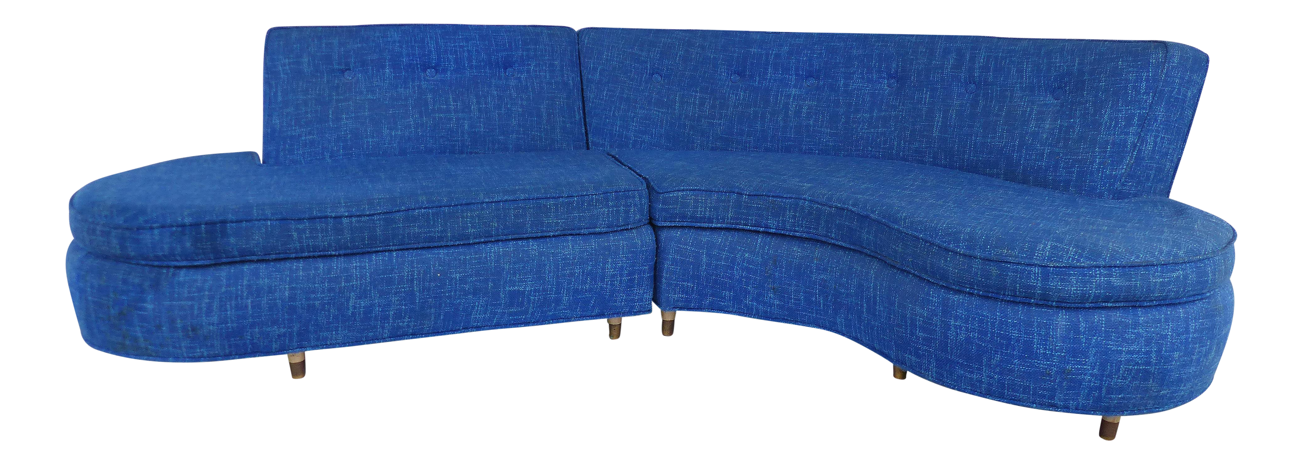 Mid-Century Modern Serpentine Sofa circa 1950  sc 1 st  Chairish : used sectionals - Sectionals, Sofas & Couches