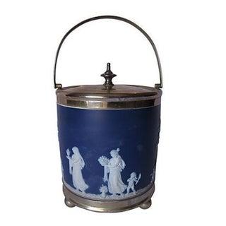 Antique Wedgwood Salt Glaze Ice Bucket