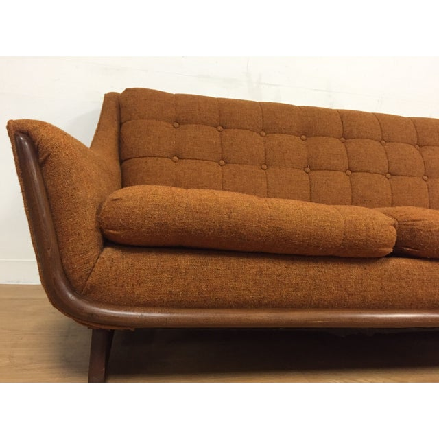 Mid Century Pearsall Style Sofa - Image 6 of 9