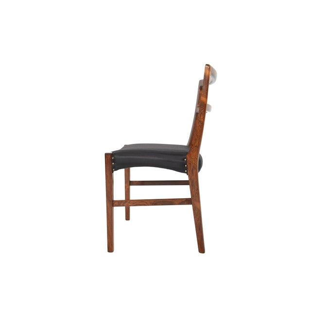 Harry Østergaar Rosewood Dining Chairs - Set of 6 - Image 2 of 10