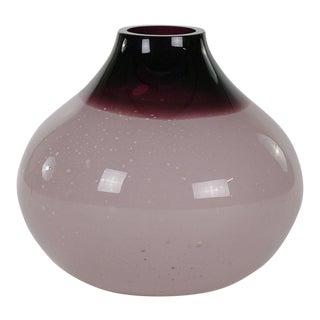 Alfredo Barbini Murano Bubble Vase