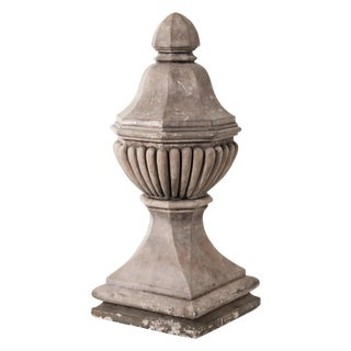Pair of Vintage Stone Finials