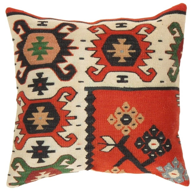 Pasargad Decorative Vintage Kilim Pillow - Image 1 of 3