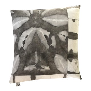 "20"" Hand Dyed Linen Pillow Cover"