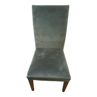Blue Velvet Dining Side Chair