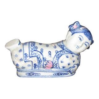 Asian Ceramic Head Rest