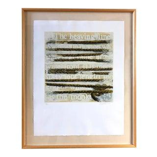 """Deborah Oropallo """"Rescue Device"""" 1989 Print"""