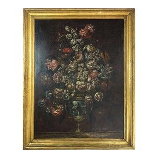 Late 19th Century Italian Style Floral Still Life