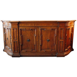 Grand, Tuscan Walnut Buffet