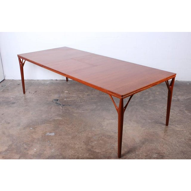 Sculptural Teak Dining Table - Image 7 of 10