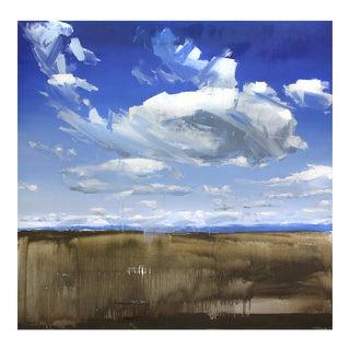 "David Shingler ""Wyoming Clouds"" Painting"