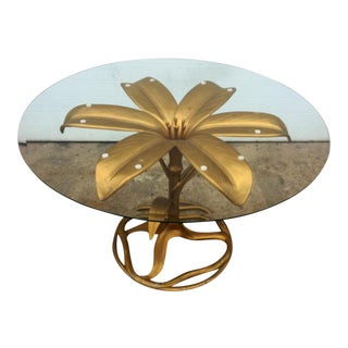 Arthur Court Style Flower Table