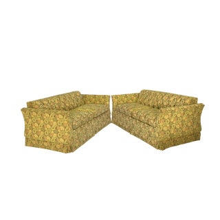 Hollywood Regency Style Loveseats - A Pair