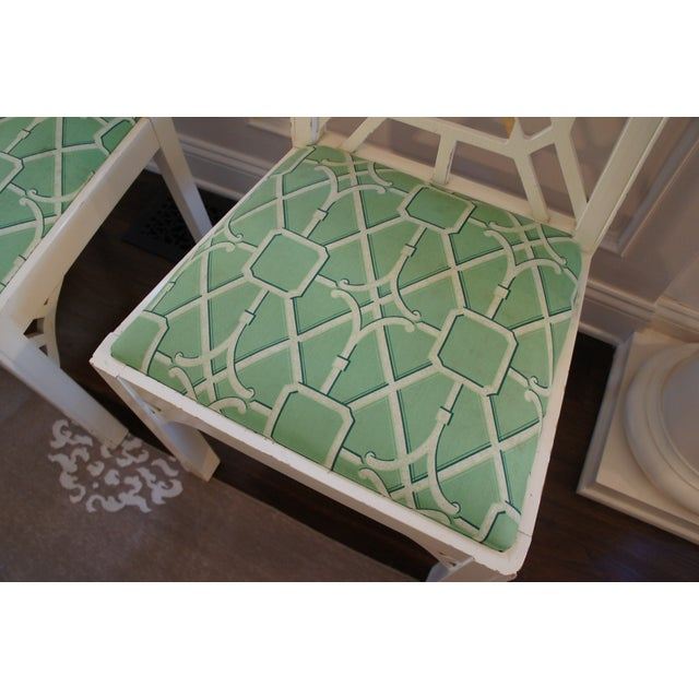 Pagoda Dining Chairs - Set of 4 - Image 3 of 9