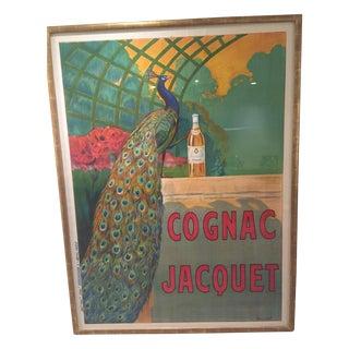 Large Cognac Jacquet Poster Print