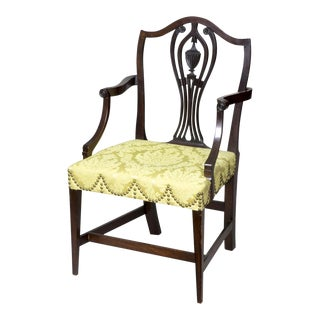 Mahogany Hepplewhite Armchair