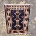 "Image of Turkaman Handmade Persian Rug - 2'1"" X 2'8"""