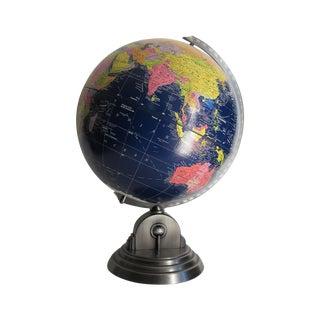 Vintage 1980s Desk Globe