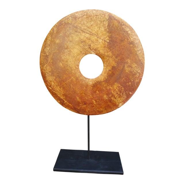Vintage Stone Bi Disk - Image 1 of 4