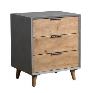 Industrial Minimalist Wood Cabinet