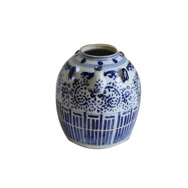 A Chinese Porcelain Wine Pot - Image 2 of 7