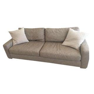 Restoration Hardware Square Arm Sofa