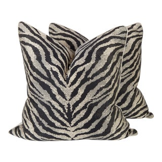 Nairobi Zebra Onyx Pillows - A Pair