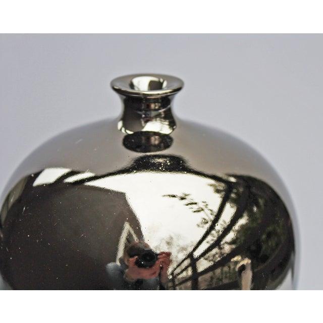Bungalow 5 Baluster Metallic Vases - Pair - Image 6 of 8