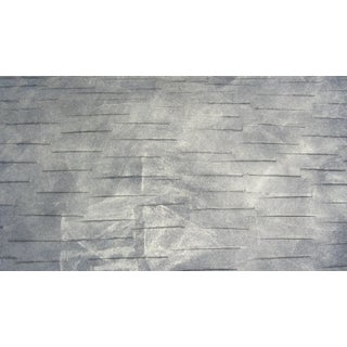 Metallic Textured Graphite Wallpaper - 51ft