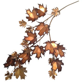 C. Jere Brutalist Sculpture - Autumn Leaves 51""